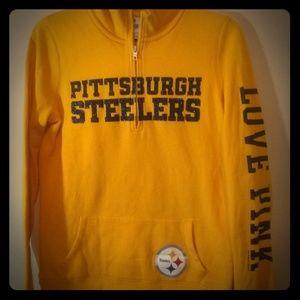 Victoria secret Pittsburgh Steelers sweatshirt